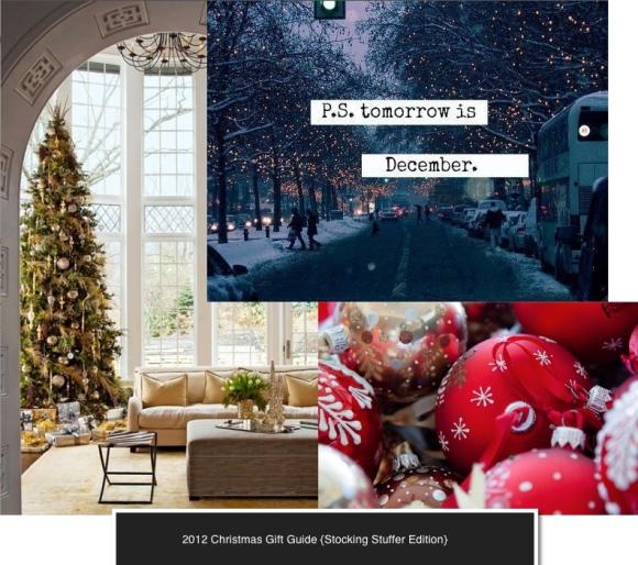 Christmas 2012 gift guide