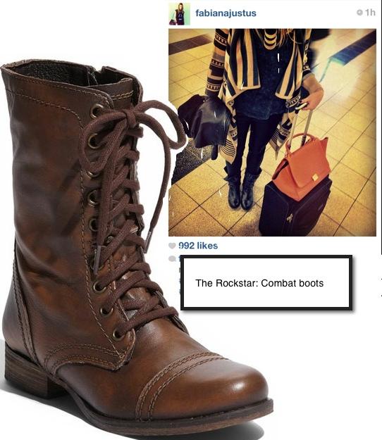 Travel - combat boots