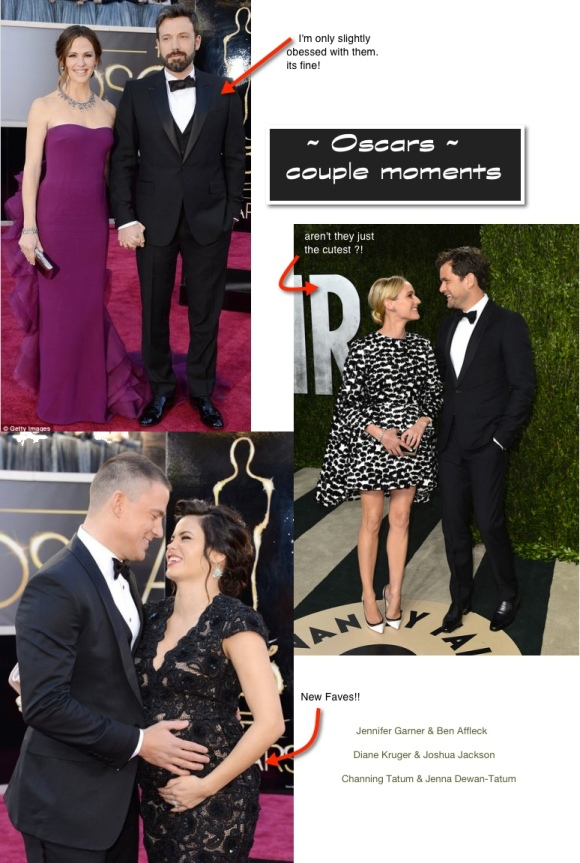 Oscars 2013 couples